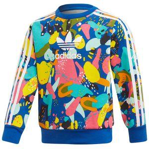 adidas Originals Crew Set Kleinkind Anzug blau mehrfarbig ED7775 – Bild 4