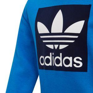 adidas Originals Crew Set Baby Anzug blau dunkelblau ED7684 – Bild 3