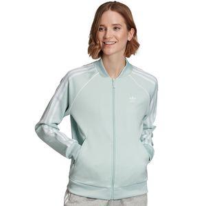 adidas Originals SST Track Top Damen Jacke mintgrün ED7590 – Bild 3