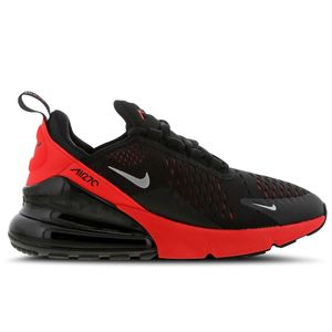 Nike Air Max 270 GS Kinder Sneaker schwarz rot 943345 018 – Bild 1