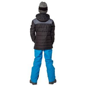 Protest Markus JR Kinder Ski Snowboardjacke schwarz grau 6810092 290 – Bild 5
