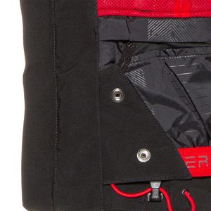 Spyder Titan Jacket Herren Skijacke schwarz grau rot 191020 001 – Bild 3