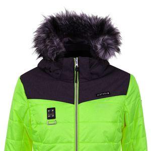 Icepeak Viroqua Damen Ski Winterjacke grün grau 4 43269 512QS 537 – Bild 2