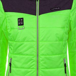 Icepeak Viroqua Damen Ski Winterjacke grün grau 4 43269 512QS 537 – Bild 4