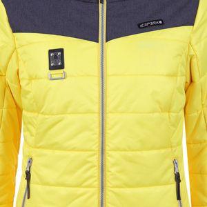 Icepeak Viroqua Damen Ski Winterjacke gelb grau 4 43269 512QS 420 – Bild 4