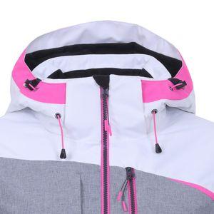 Icepeak Calion Jacket Damen Skijacke grau weiß pink 4 53 228 659 I 980 – Bild 3
