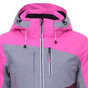Icepeak Calion Jacket Damen Skijacke grau weinrot pink 4 53 228 659 I 630 – Bild 2