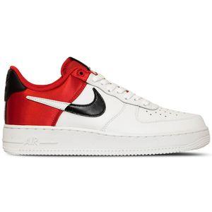 Nike Air Force 1 `07 LV8 1 Herren Sneaker weiß schwarz rot BQ4420 600 – Bild 1