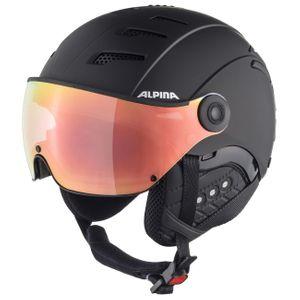Alpina Jump 2.0 HM S1 Skihelm mit Visier black matt 55 - 58 cm – Bild 1