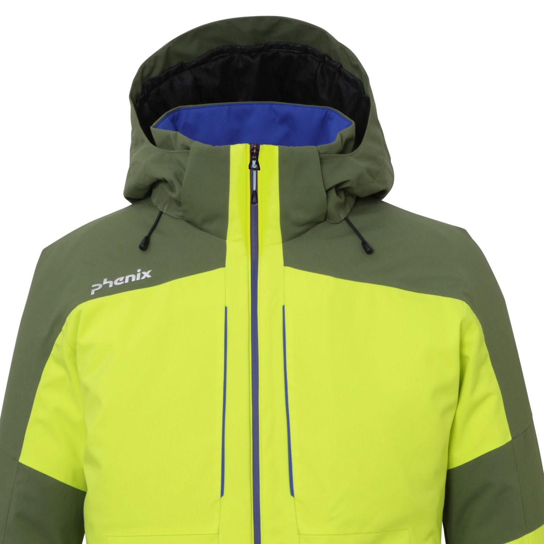 Jacket Gelb Yg Es972ot33 Phenix Slope Skijacke Grün Herren FK1J3lu5Tc