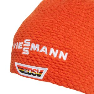 adidas Viessmann DSV Beanie Team Warm Herren Strickmütze orange FQ5455 – Bild 4