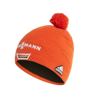 adidas Viessmann DSV Beanie Team Warm Herren Strickmütze orange FQ5455 – Bild 6