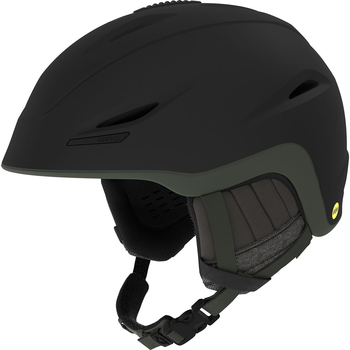 Giro Union Mips Herren Skihelm schwarz oliv matt Gr. M 55,5 - 59 cm