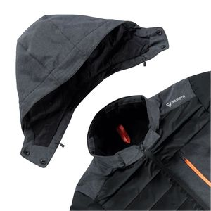 Brunotti Trysail Men Jacket Herren Ski- Snowboardjacke schwarz grau  – Bild 2