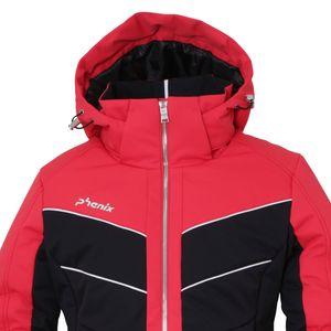 Phenix Furano Jacket Damen Skijacke magenta schwarz ES982OT65 MA – Bild 2