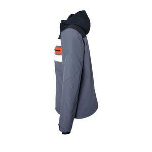 Brunotti Gleason Men Jacket Herren Ski- Snowboardjacke grau schwarz  – Bild 2
