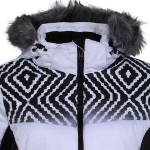 Icepeak Vigevano Damen Ski Winterjacke weiß schwarz 4 53247 512QS 980 – Bild 3