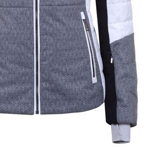 Luhta Ivaska L7 Skijacke Damen grau weiß schwarz 4 34477 413 L7 810  – Bild 3
