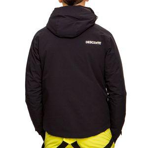 Descente Challenger Jacket Herren Skijacke schwarz grün DWMOGK62  – Bild 3