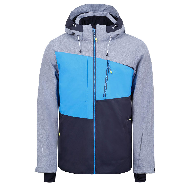 Icepeak Carver Ski- Snowboardjacke Herren grau schwarz blau