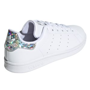 adidas Originals Stan Smith J Sneaker weiß Glitzer EE8483 – Bild 3