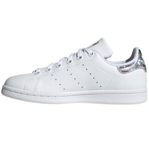 adidas Originals Stan Smith J Sneaker weiß Glitzer EE8483 – Bild 2