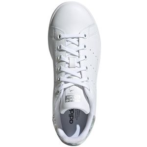 adidas Originals Stan Smith J Sneaker weiß Glitzer EE8483 – Bild 6