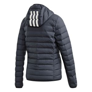 adidas Performance Varilite 3S Hooded Jacket Damenjacke grau DZ1520  – Bild 2