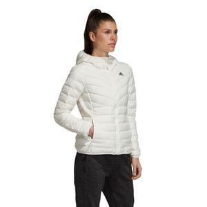adidas Performance Varilite 3S Hooded Jacket Damenjacke weiß DZ1504 – Bild 3
