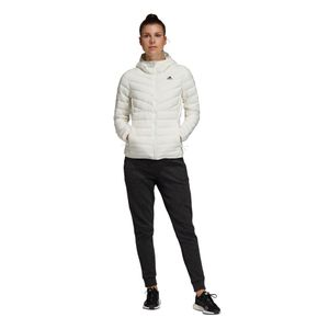 adidas Performance Varilite 3S Hooded Jacket Damenjacke weiß DZ1504 – Bild 6