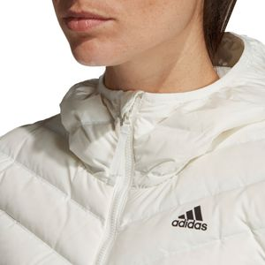 adidas Performance Varilite 3S Hooded Jacket Damenjacke weiß DZ1504 – Bild 9