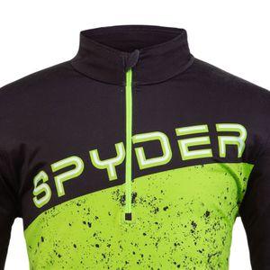 Spyder Mandate Zip T-Neck Herren Skirolli grün schwarz 191263 016 – Bild 3