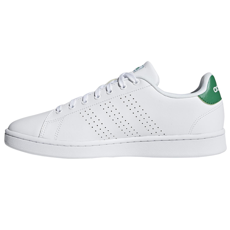 adidas Performance Advantage Sneaker weiß grün F36424