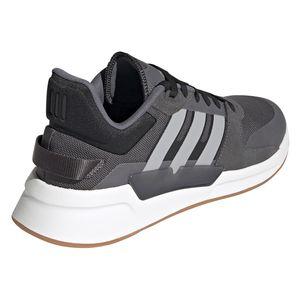 adidas Run 90s Herren Sneaker grau schwarz weiß EF0193 – Bild 4