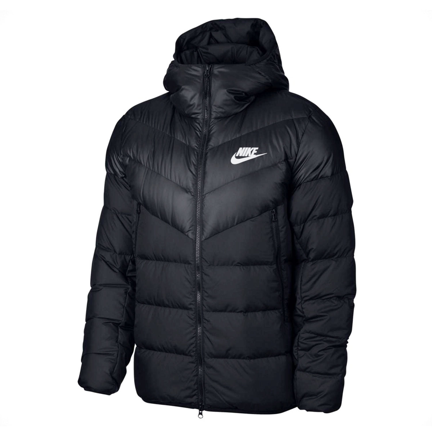 Nike Windrunner Down Fill Jacket Herrenjacke schwarz weiß 928833 010