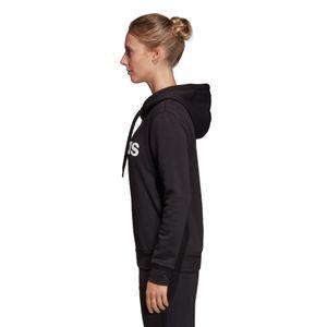 adidas Essentials Linear Over Head Fleece Hoodie Damen schwarz DP2364 – Bild 3