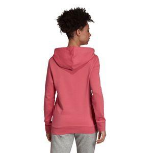 adidas Essentials Linear Over Head Hoodie Damen bliss pink EI0655 – Bild 5