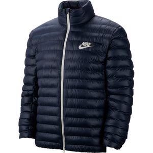 Nike NSW Steppjacke Jacket Herrenjacke blau weiß BV4685 452 – Bild 1