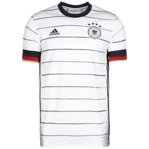 adidas DFB Home Jersey Herren Heimtrikot EM2020 weiß schwarz EH6105 – Bild 1