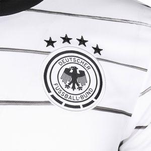 adidas DFB Home Jersey Kinder Heimtrikot EM2020 weiß schwarz EH6103 – Bild 3