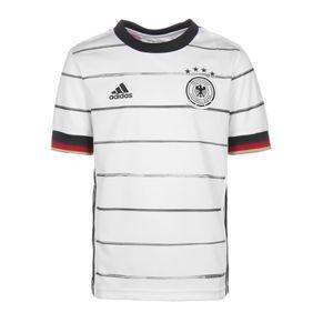 adidas DFB Home Jersey Kinder Heimtrikot EM2020 weiß schwarz EH6103 – Bild 1