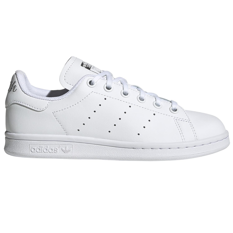 adidas Originals Stan Smith J Sneaker weiß silber EF4913