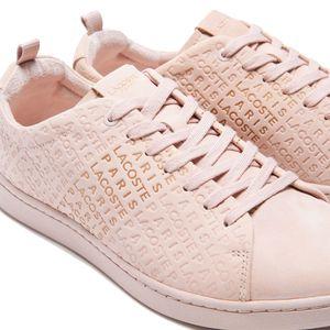 Lacoste Carnaby Evo 319 Damen Sneaker natural gold 7-38SFA0041NG9 – Bild 2