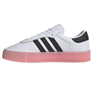 adidas Originals Sambarose W Damen Sneaker weiß schwarz pink EF4965 – Bild 2