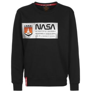 Alpha Industries Mars Reflective Sweater schwarz 126331/03 – Bild 2