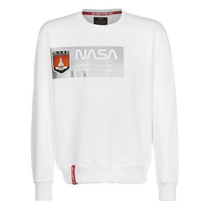 Alpha Industries Mars Reflective Sweater weiß 126331 09 – Bild 1