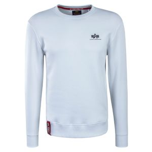 Alpha Industries Basic Sweater Small Logo weiß 188307/09 – Bild 1