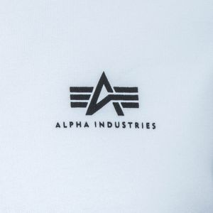 Alpha Industries Basic Sweater Small Logo weiß 188307/09 – Bild 3