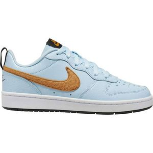 Nike Court Borough Low 2 FLT GS Kinder Sneaker blau braun  – Bild 1