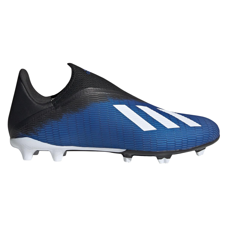 adidas X 19.3 LL FG Herren Fußball Nockenschuhe blau schwarz EG7178